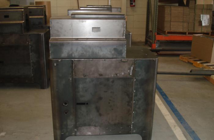 Threading machine case