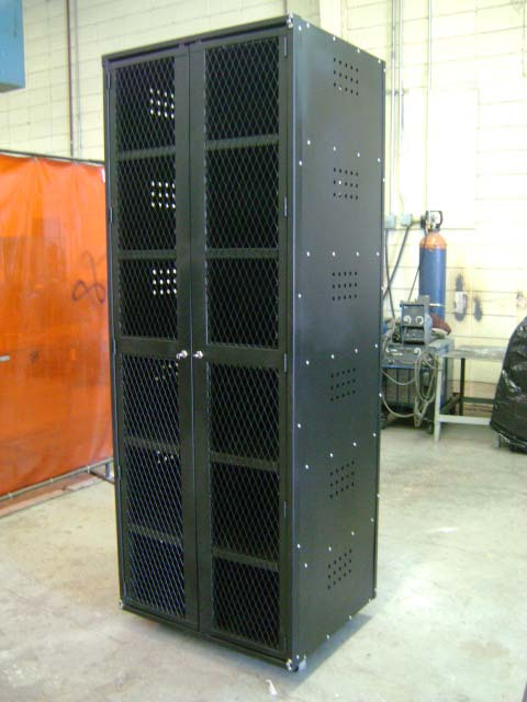 Tool Crib Cabinet